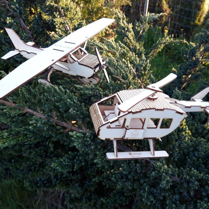Lidmašīnas, helikopteri